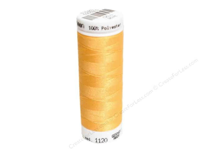 Mettler PolySheen Embroidery Thread 220 yd. #1120 Sunset