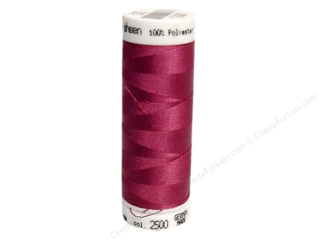Mettler PolySheen Embroidery Thread 220 yd. #2500 Boysenberry