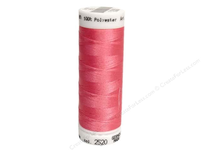 Mettler PolySheen Embroidery Thread 220 yd. #2520 Garden Rose