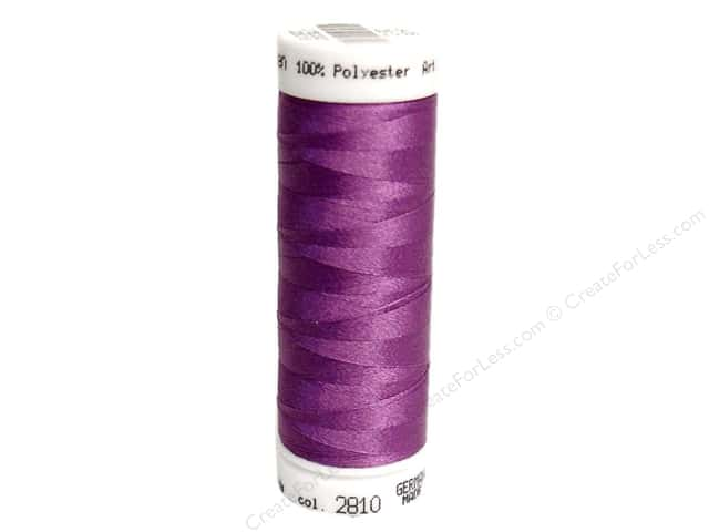 Mettler PolySheen Embroidery Thread 220 yd. #2810 Orchid