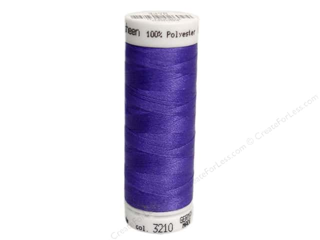Mettler PolySheen Embroidery Thread 220 yd. #3210 Blueberry