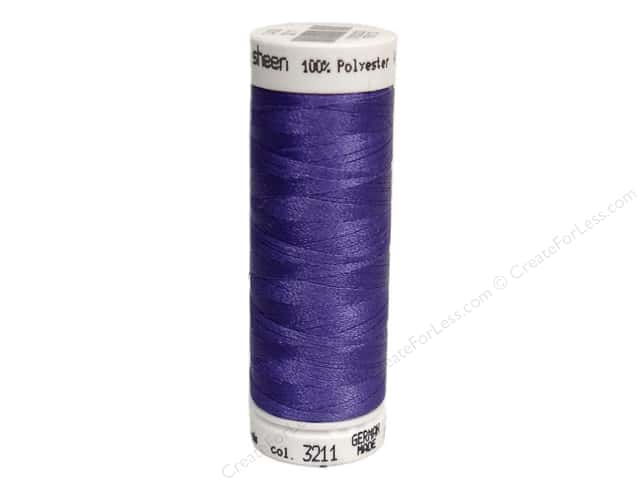 Mettler PolySheen Embroidery Thread 220 yd. #3211 Twilight