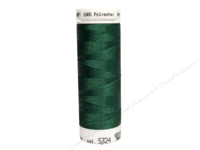 Mettler PolySheen Embroidery Thread 220 yd. #5324 Bright Green