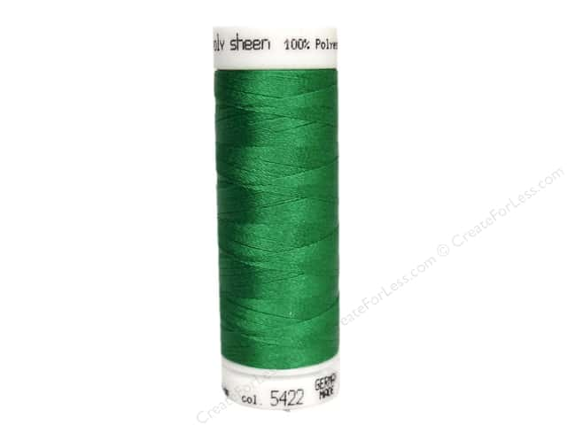 Mettler PolySheen Embroidery Thread 220 yd. #5422 Swiss Ivy