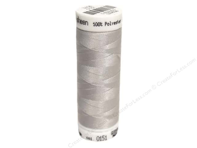 Mettler PolySheen Embroidery Thread 220 yd. #0151 Cloud