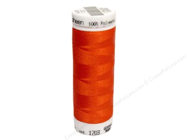 Mettler PolySheen Embroidery Thread 220 yd. #1703 Poppy