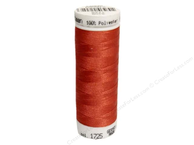 Mettler PolySheen Embroidery Thread 220 yd. #1725 Terra Cotta