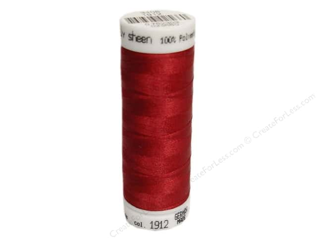 Mettler PolySheen Embroidery Thread 220 yd. #1912 Winterberry