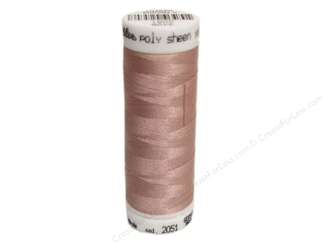 Mettler PolySheen Embroidery Thread 220 yd. #2051 Teaberry
