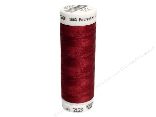 Mettler PolySheen Embroidery Thread 220 yd. #2123 Bordeaux