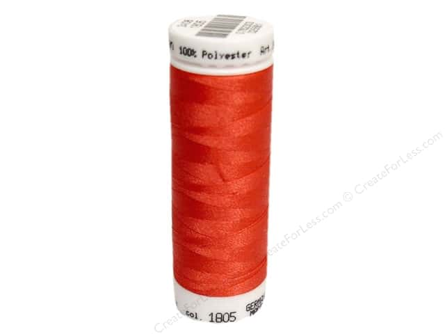 Mettler PolySheen Embroidery Thread 220 yd. #1805 Strawberry
