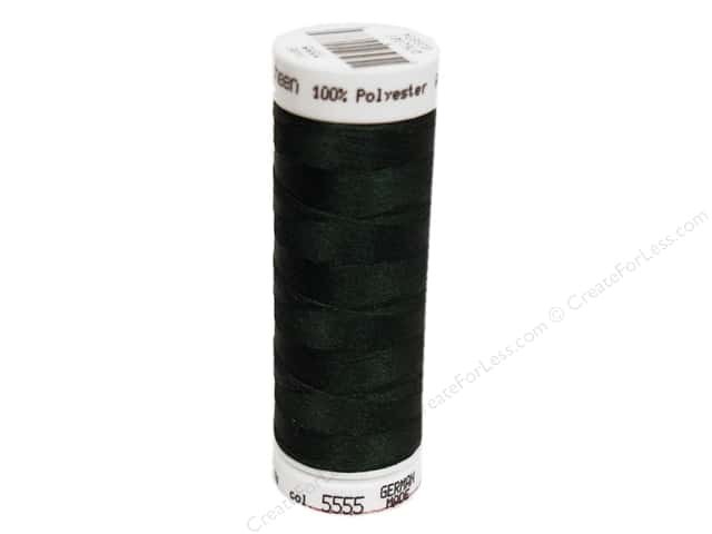 Mettler PolySheen Embroidery Thread 220 yd. #5555 Deep Green