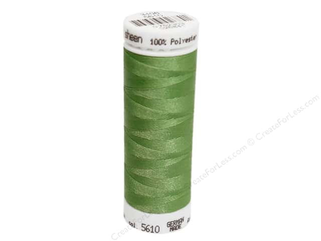 Mettler PolySheen Embroidery Thread 220 yd. #5610 Bright Mint