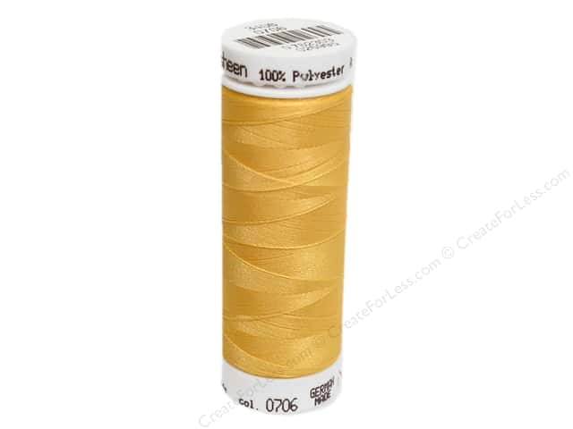 Mettler PolySheen Embroidery Thread 220 yd. #0706 Sunflower