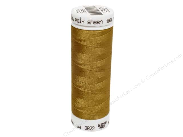 Mettler PolySheen Embroidery Thread 220 yd. #0822 Palomino