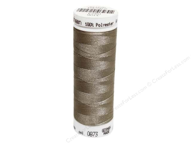 Mettler PolySheen Embroidery Thread 220 yd. #0873 Stone