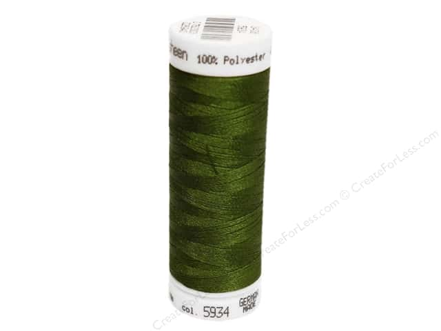 Mettler PolySheen Embroidery Thread 220 yd. #5934 Moss Green