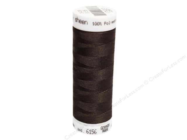 Mettler PolySheen Embroidery Thread 220 yd. #6156 Olive