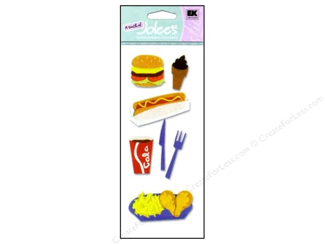 EK A Touch of Jolee's 3D Sticker Fast Food