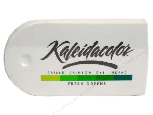 Tsukineko Kaleidacolor Dye Ink Stamp Pad Fresh Greens