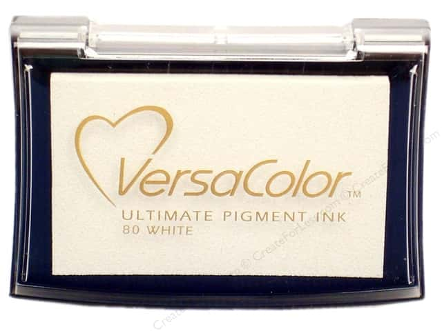 Tsukineko VersaColor Large Pigment Ink Stamp Pad White