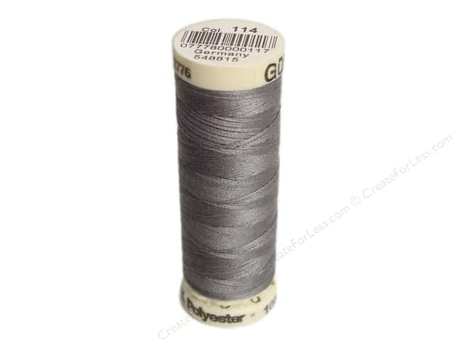 Gutermann Sew-All Thread 110 yd. #114 Greymore