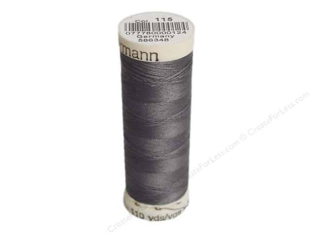Gutermann Sew-All Thread 110 yd. #115 Rail Grey