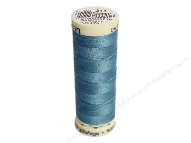 Gutermann Sew-All Thread 110 yd. #211 True Blue