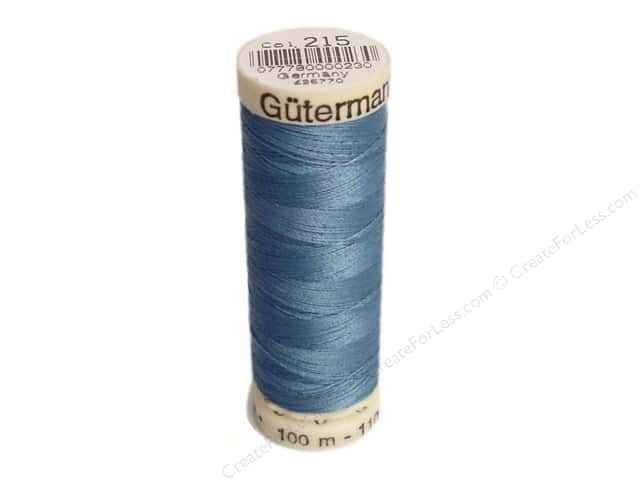 Gutermann Sew-All Thread 110 yd. #215 French Blue