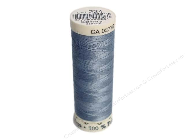 Gutermann Sew-All Thread 110 yd. #224 Tile Blue