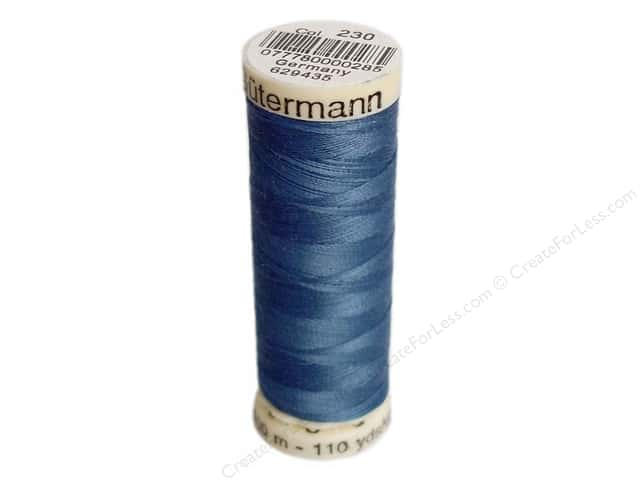Gutermann Sew-All Thread 110 yd. #230 Alpine Blue