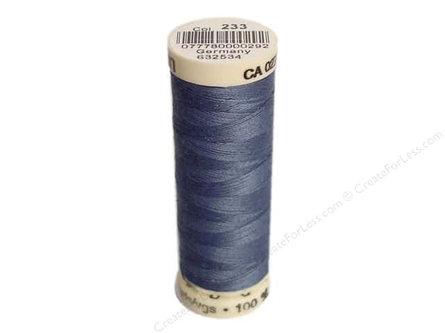 Gutermann Sew-All Thread 110 yd. #233 Slate Blue