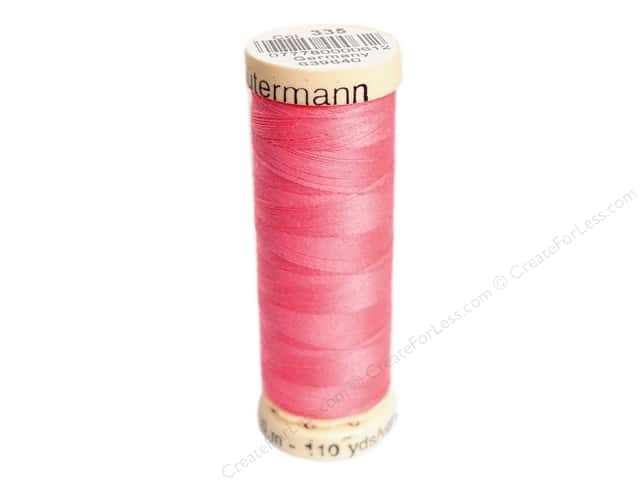 Gutermann Sew-All Thread 110 yd. #335 Strawberry