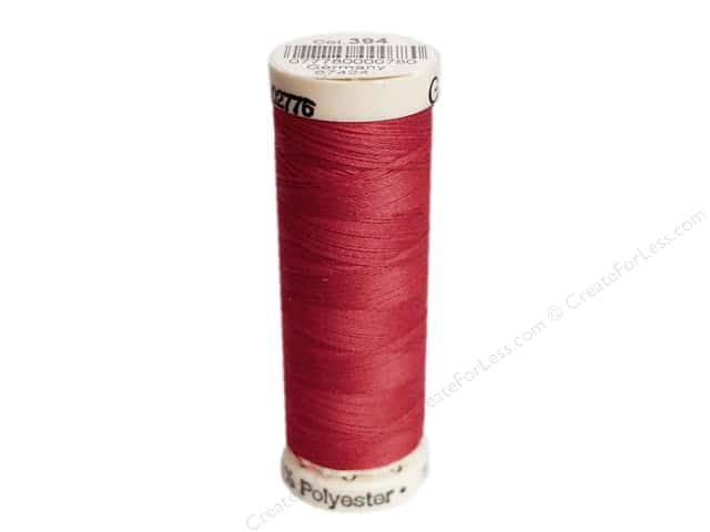 Gutermann Sew-All Thread 110 yd. #394 Peasant Red