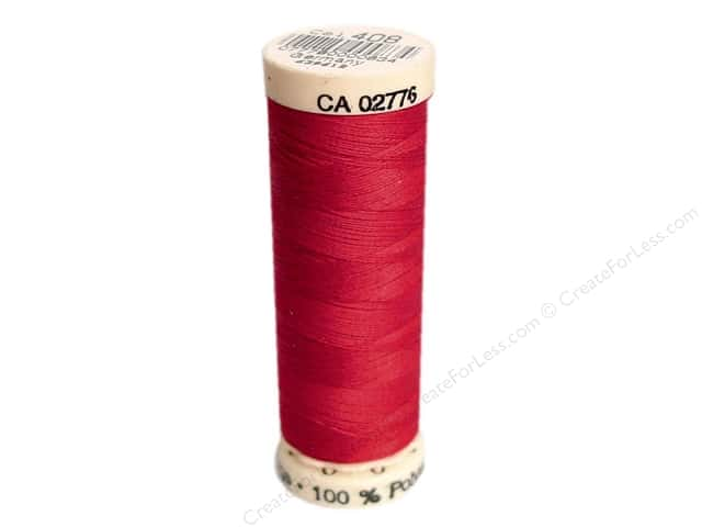 Gutermann Sew-All Thread 110 yd. #408 True Red