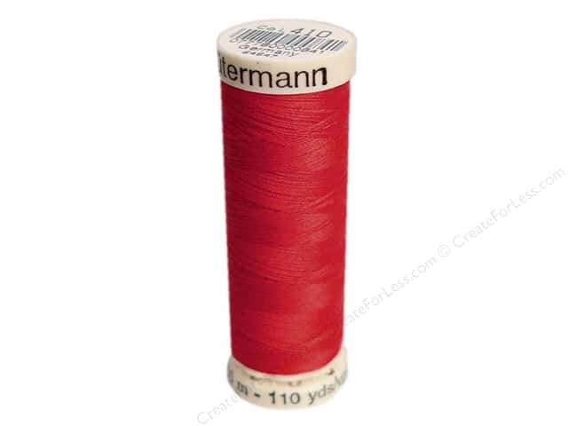 Gutermann Sew-All Thread 110 yd. #410 Scarlet