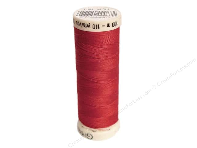 Gutermann Sew-All Thread 110 yd. #431 Light Cranberry