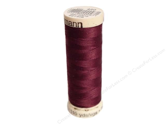 Gutermann Sew-All Thread 110 yd. #450 Burgundy