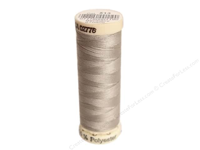 Gutermann Sew-All Thread 110 yd. #513 Light Nickel