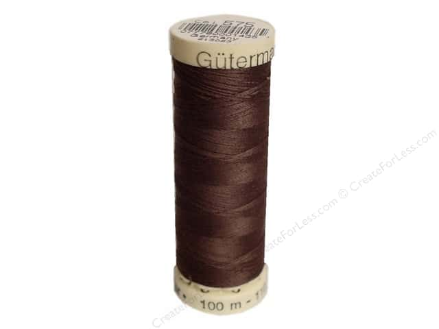 Gutermann Sew-All Thread 110 yd. #575 Saddle Brown