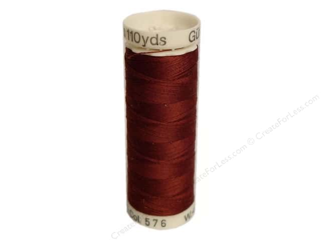 Gutermann Sew-All Thread 110 yd. #576 Dark Copper