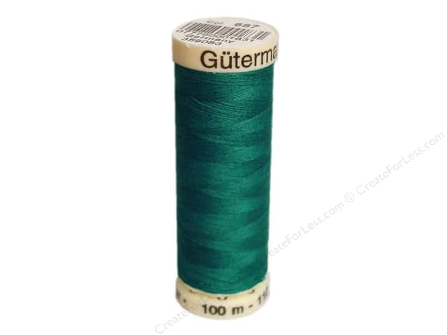 Gutermann Sew-All Thread 110 yd. #687 Prussian Green