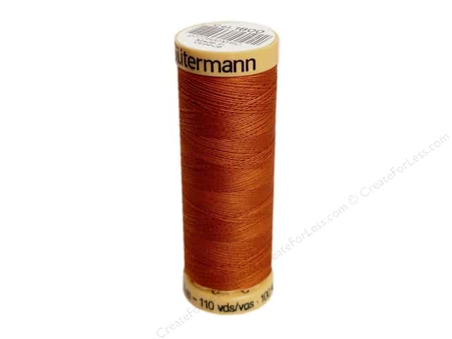 Gutermann 100% Natural Cotton Sewing Thread 109 yd. #1800 Light Rust