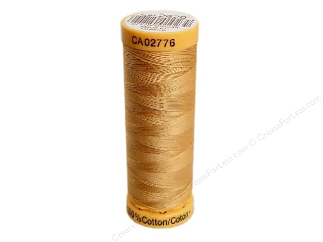 Gutermann 100% Natural Cotton Sewing Thread 109 yd. #2620 Medium Tan