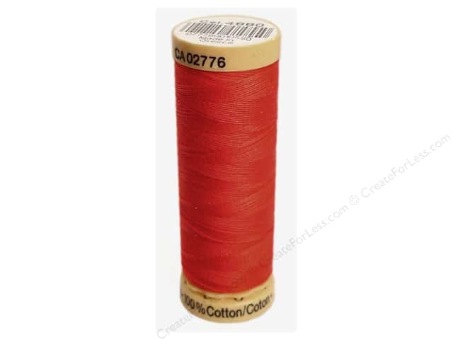 Gutermann 100% Natural Cotton Sewing Thread 109 yd. #4880 Red