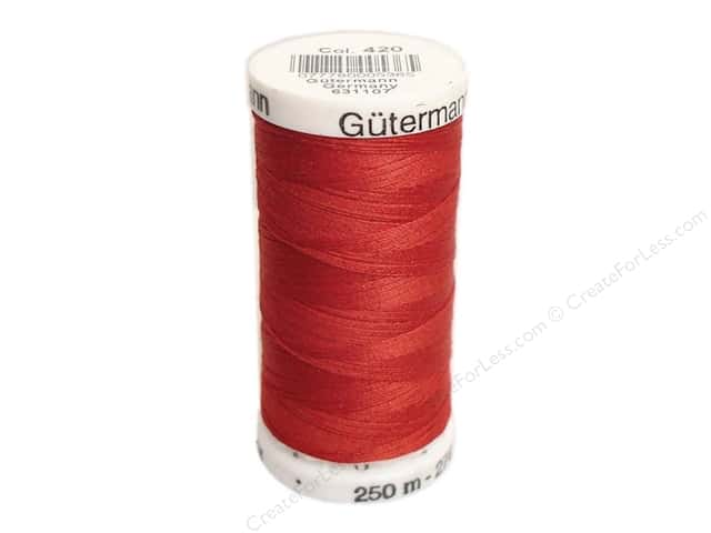 Gutermann Sew-All Thread 273 yd. #420 Chili Red