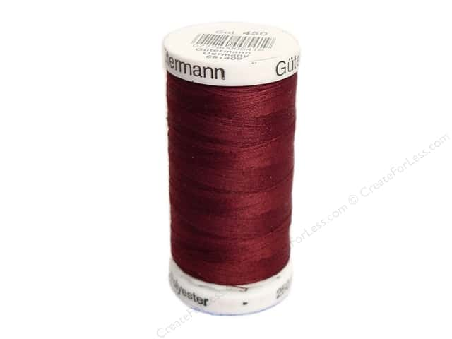 Gutermann Sew-All Thread 273 yd. #450 Burgundy