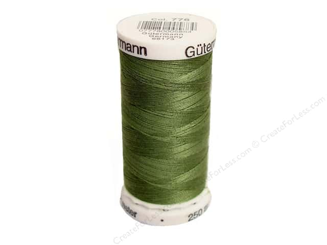 Gutermann Sew-All Thread 273 yd. #776 Moss Green