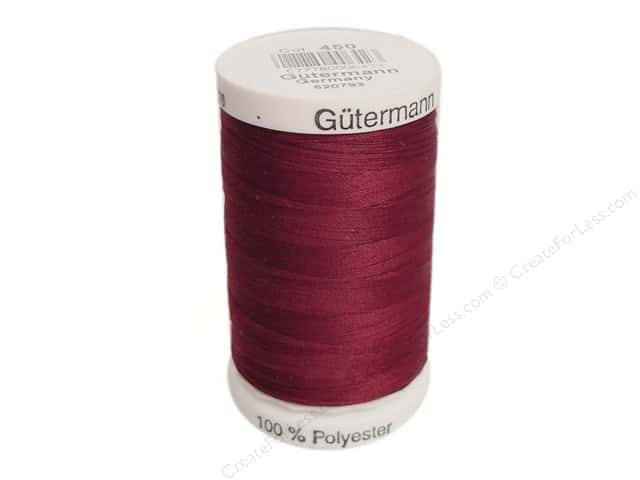 Gutermann Sew-All Thread 547 yd. #450 Burgundy