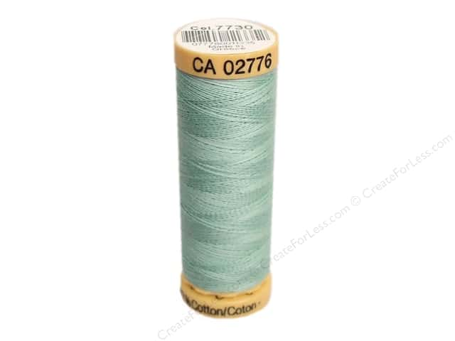 Gutermann 100% Natural Cotton Sewing Thread 109 yd. #7730 Light Green